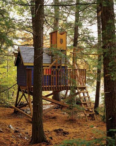 Deluxe Tree House Plan