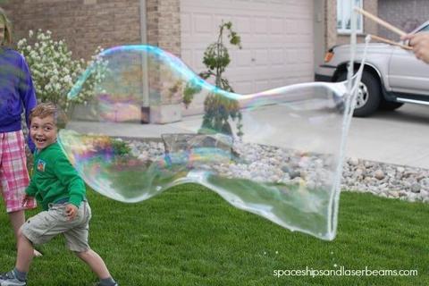 Giant Soap Bubbles