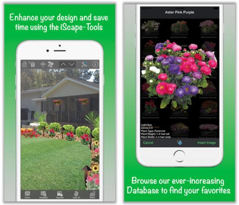Gardening App iScape