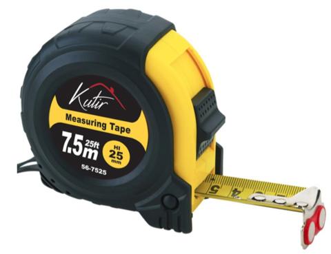 25' Retractable Tape Measure