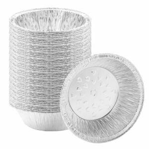 Premium Disposable 5 Inch Aluminum Pie Pans