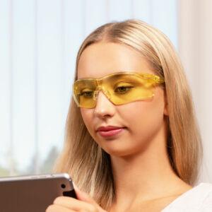 505U Blue Light Blocking Safety Glasses