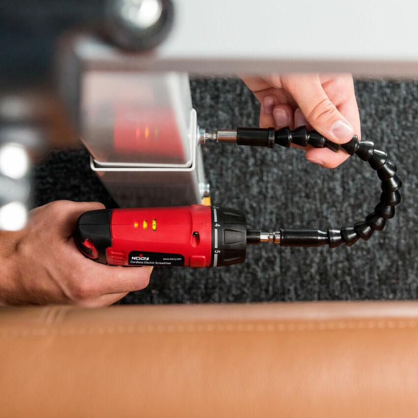 Cordless Electric Screwdriver Kit